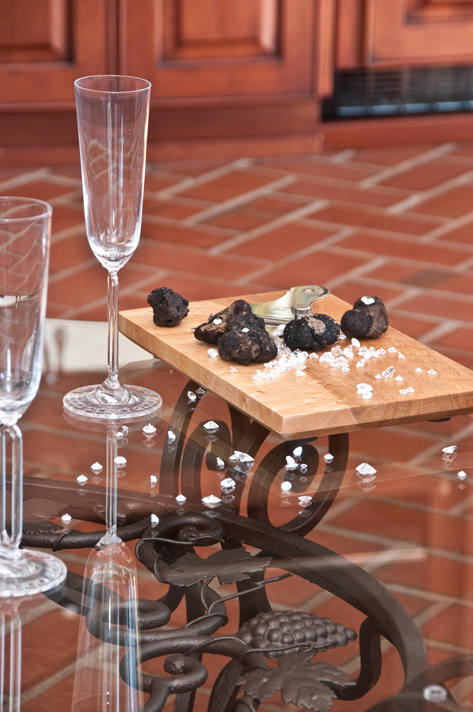 Black Diamond truffle