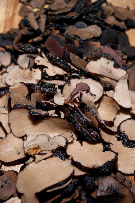 Luscious winter truffles