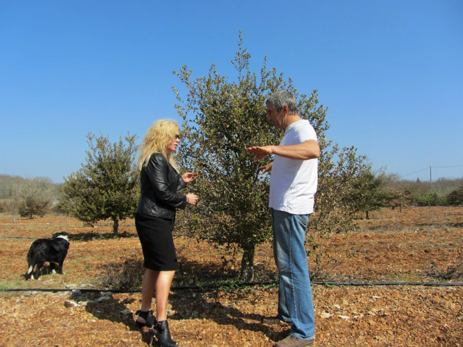 Susan-France in Orchard
