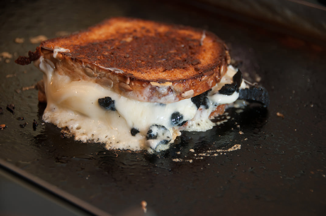 Truffled cheese sandwich