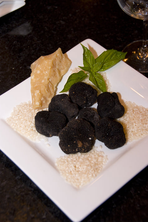 Plated truffles