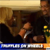 Truffles on Meals on Wheels