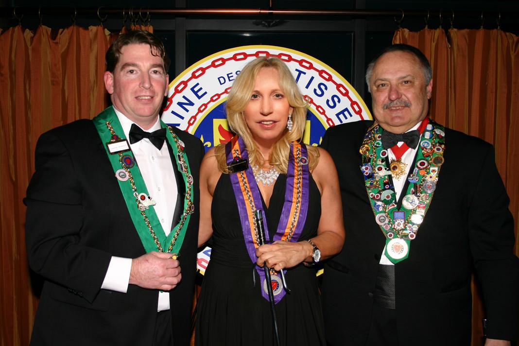 Susan Rice Alexander Chaine de Rotisseurs induction