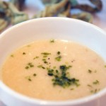 Cauliflower Soup With White Truffle Oil
