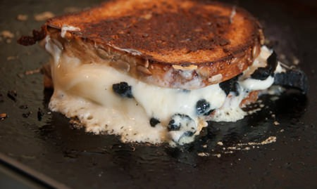 Susan Rice Alexander's oozing truffle grilled cheese sandwich