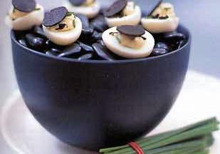 Truffled Quail Eggs