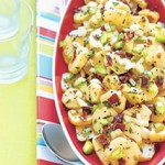 Yukon Gold Potato Salad With Crispy Prosciutto & Truffle Oil
