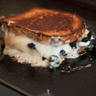 Grilled truffle cheese sandwich