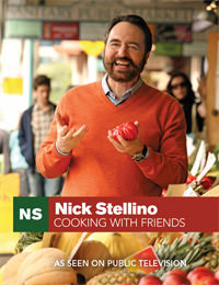 Nick Stellino Cooking With Friends Cover